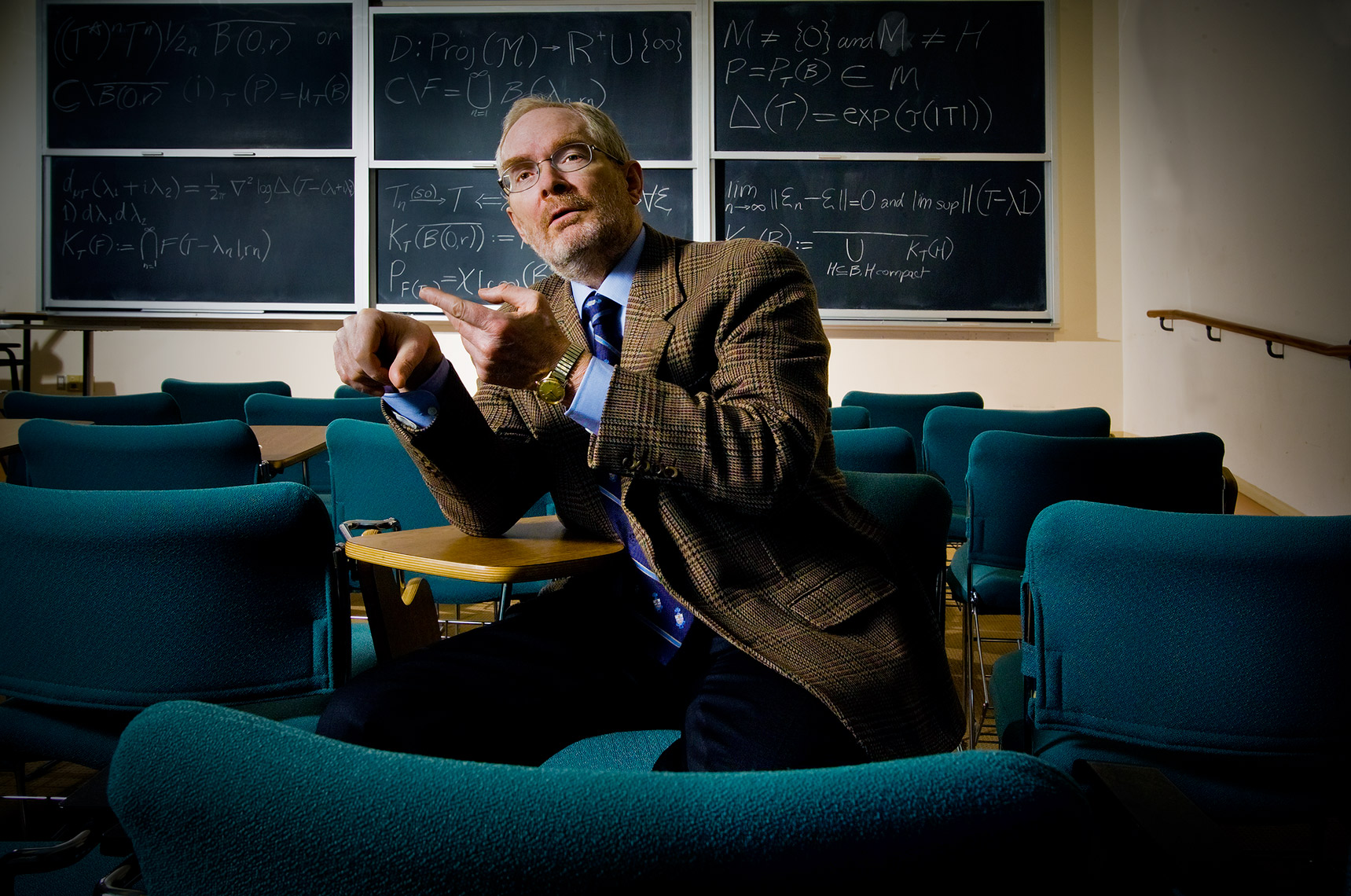 Editorial Portrait of Prof.George-Elliot UofT