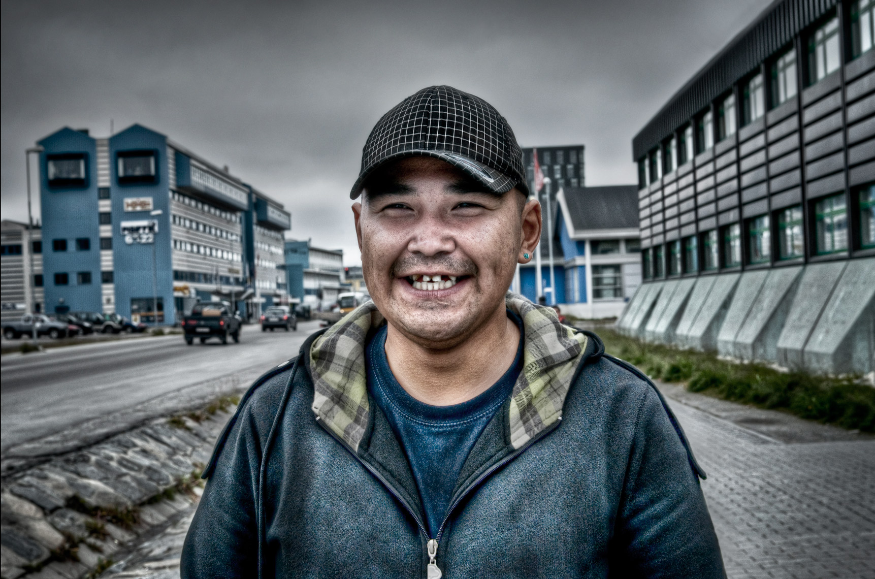 Location Portrait in Nuuk-Greenland
